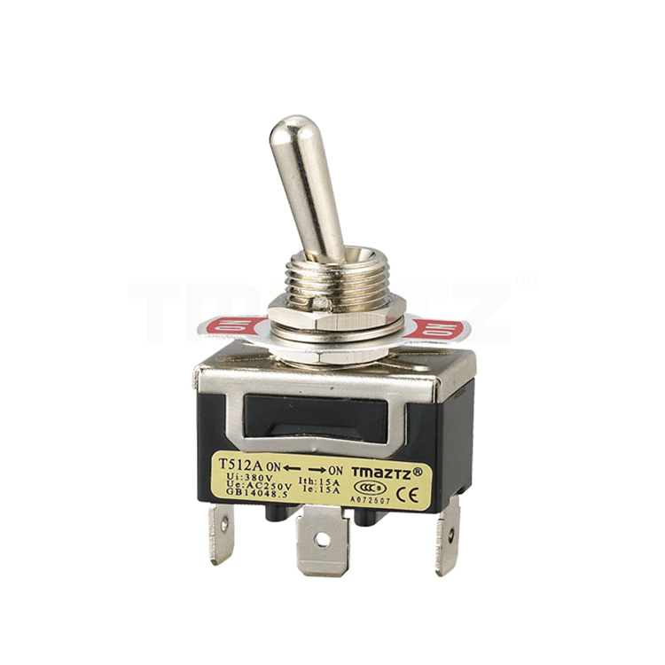 T512A On-On Toggle Switch SPDT