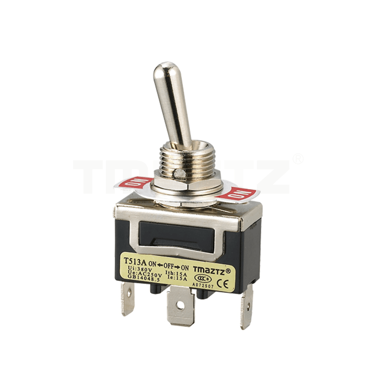 T513A On-Off-On Toggle Switch SPDT