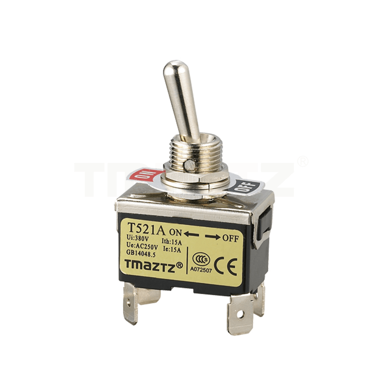 T521A On-Off Toggle Switch DPST