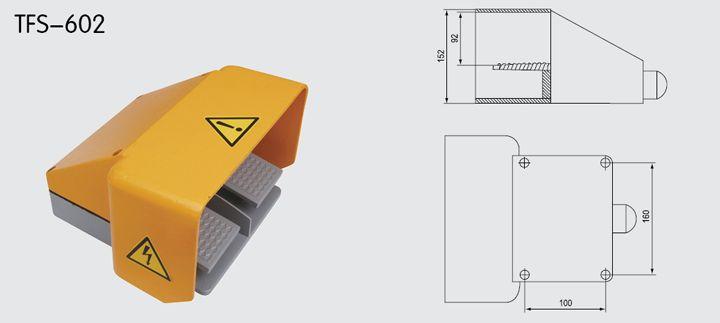 TFS-602 Foot Switch