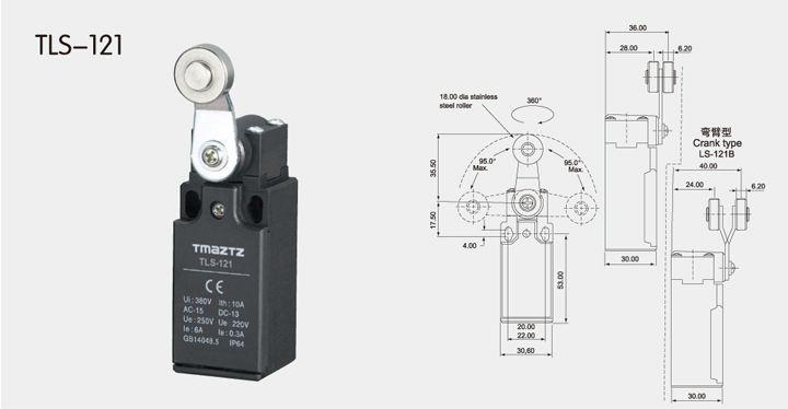 TLS-121 limit switch